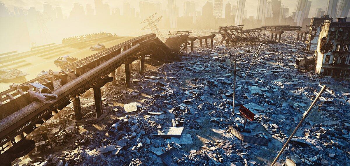 Zniszczone mosty