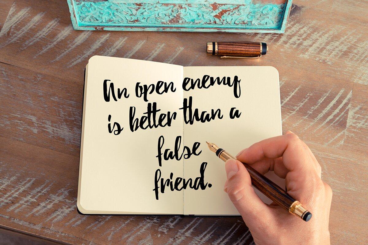 List do przyjaciół