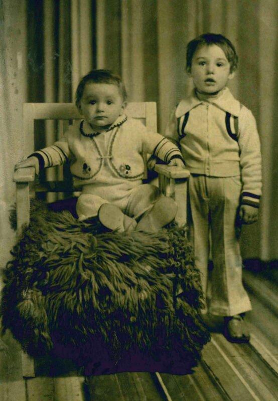 Mariusz  i Szymon u fotografa